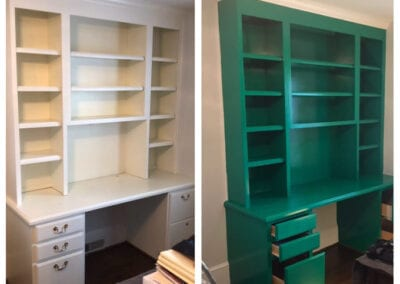 Carrie's Creations Built-ins Painting